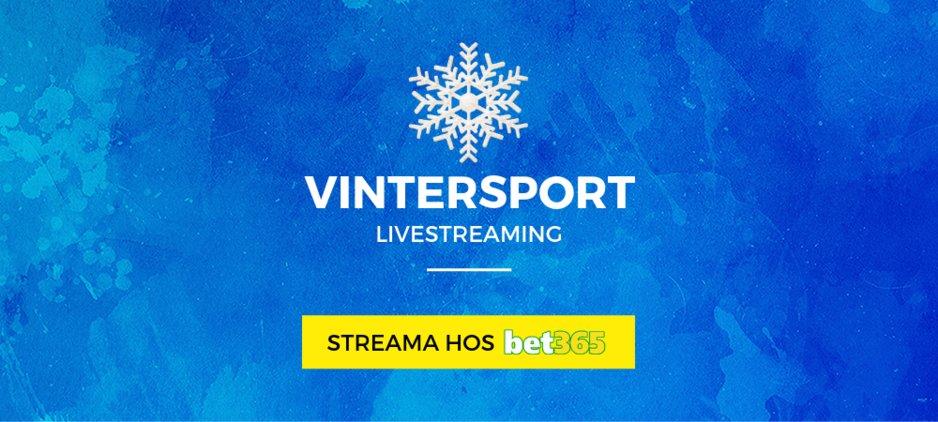 Livestreaming vintersport bet365