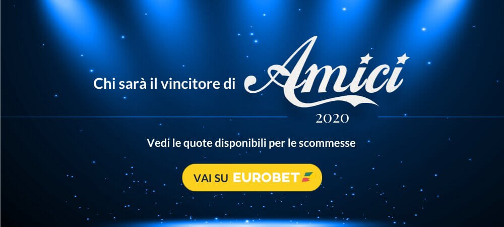 Quote Scommesse Amici 2020