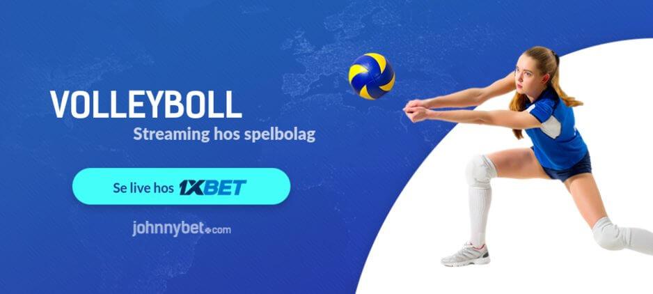 Streama volleyboll gratis
