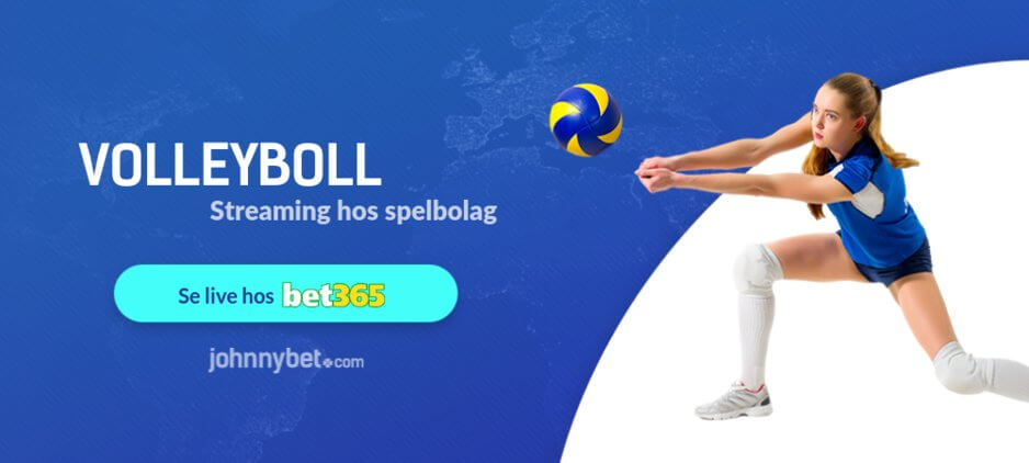 Streama volleyboll online bet365