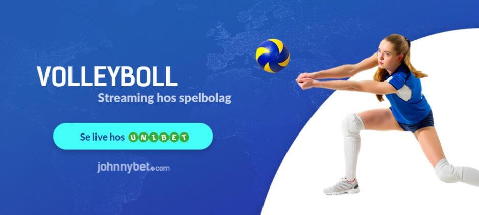 Streama volleyboll online unibet