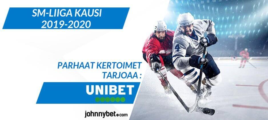 SM-Liiga 2019 - 2020 Vedonlyönti
