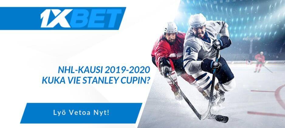 NHL 2019-2020 Vedonlyönti ja Kertoimet