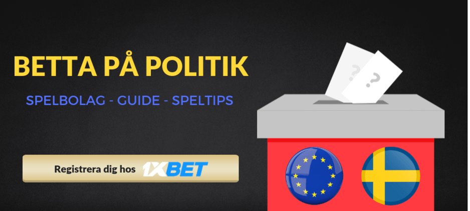 Betting politik spelbolag 1xbet