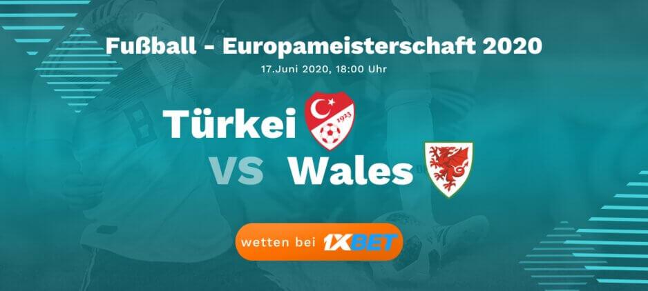 Türkei - Wales Wettquoten