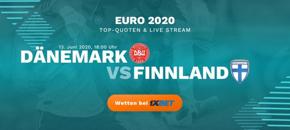 Dänemark - Finnland Live Stream online kostenlos