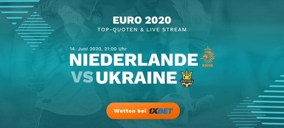 Niederlande - Ukraine Live Stream online kostenlos