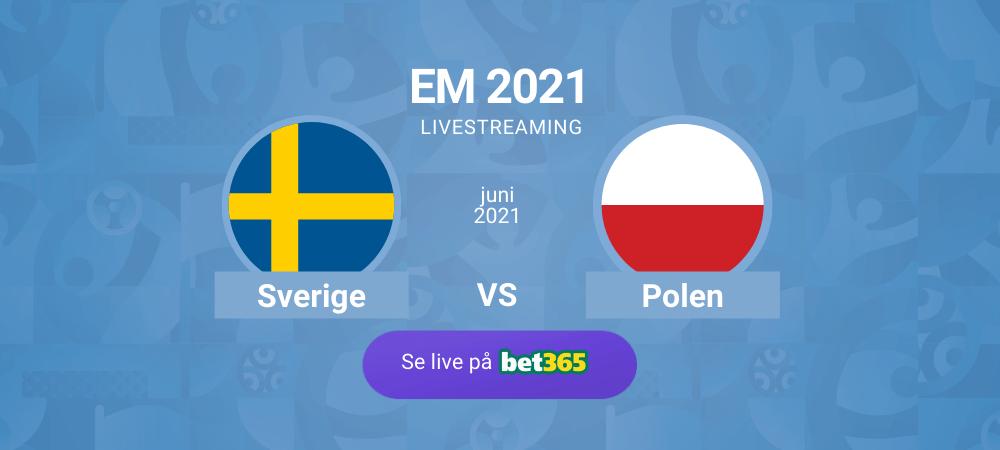 Streama Sverige - Polen