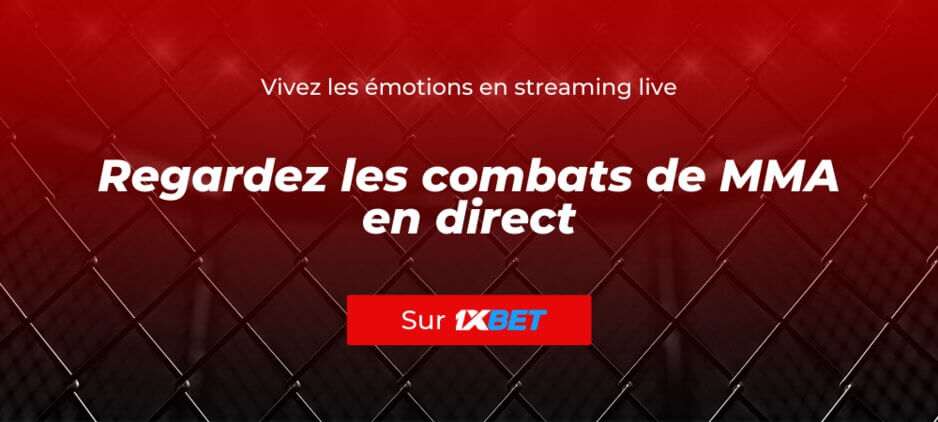 MMA Streaming Live Gratuit