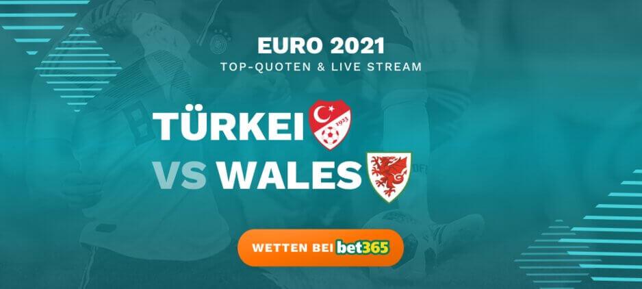 Türkei - Wales Live Stream online kostenlos