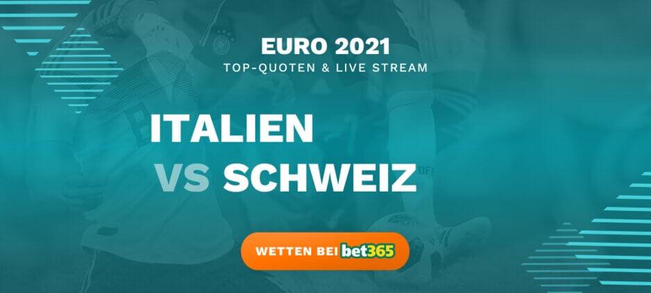 Italien - Schweiz Live Stream online kostenlos