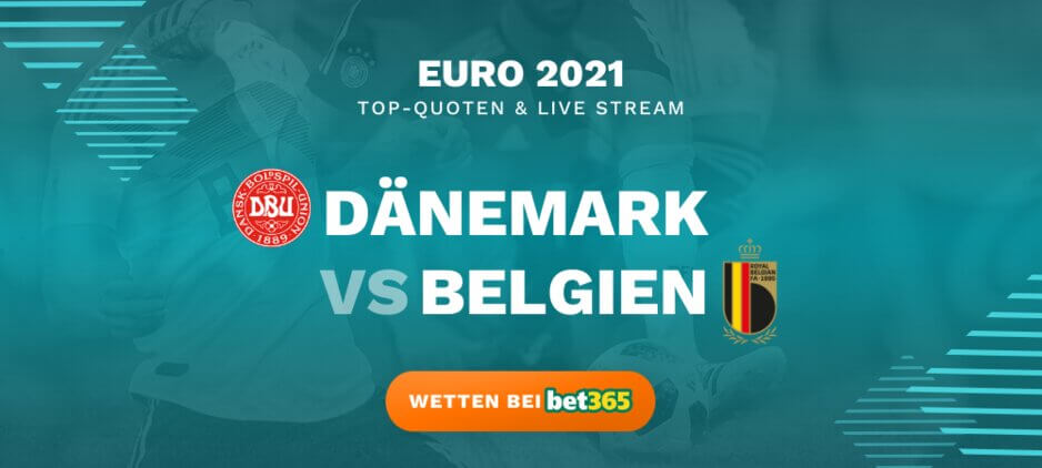 Dänemark - Belgien Wettquoten