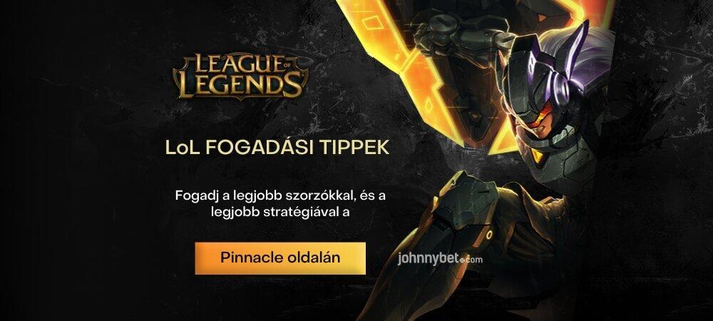 League of Legends fogadási tippek és stratégiák