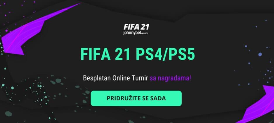 Online FIFA 21 Turnir sa Nagradama