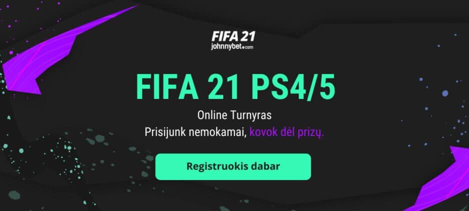 FIFA 21 Online Turnyras