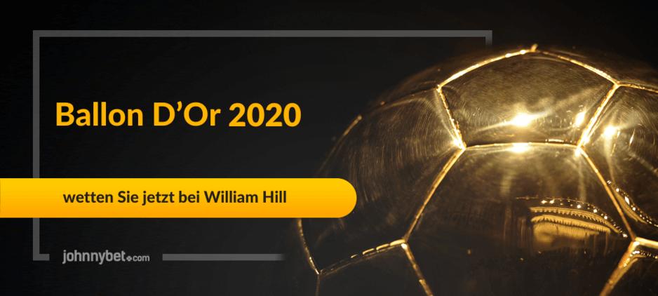 Ballon d'Or 2020 Wettquoten