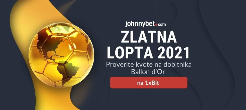 Zlatna lopta 2021 Tipovi za klađenje