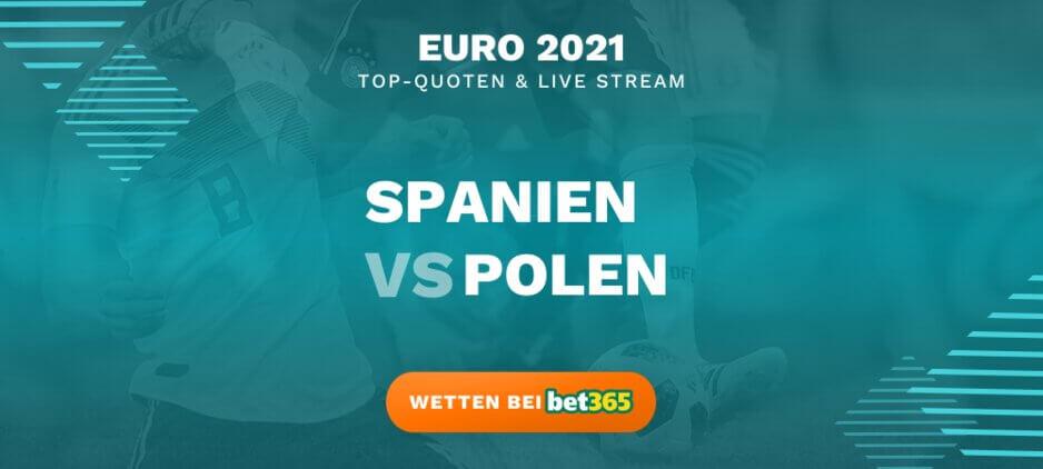 Spanien - Polen Wettquoten