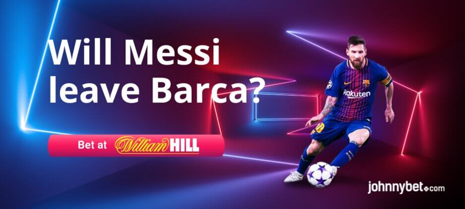 Will Messi Leave Barcelona Betting Odds