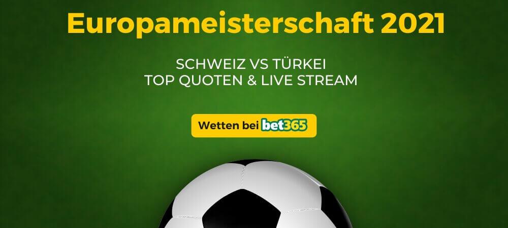 Schweiz - Türkei Live Stream online kostenlos