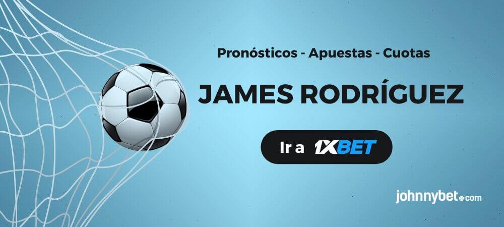 James Rodríguez Apuestas