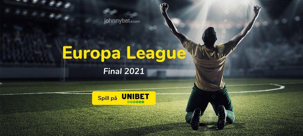 Europa League 2021 Final odds og stream
