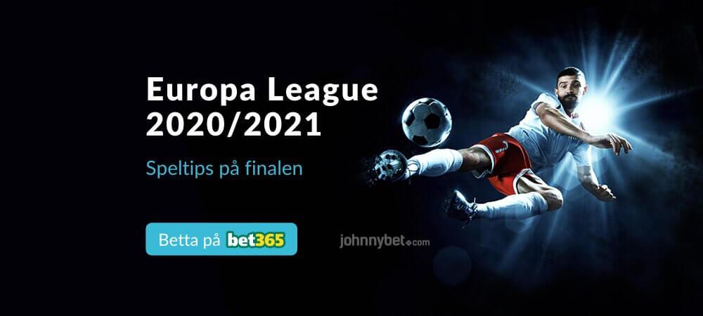 Europa League-final 2021 gratis stream och odds