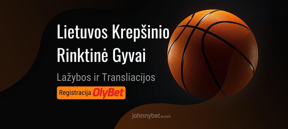 Lietuvos Vyrų Krepšinio Rinktinė Tiesiogiai