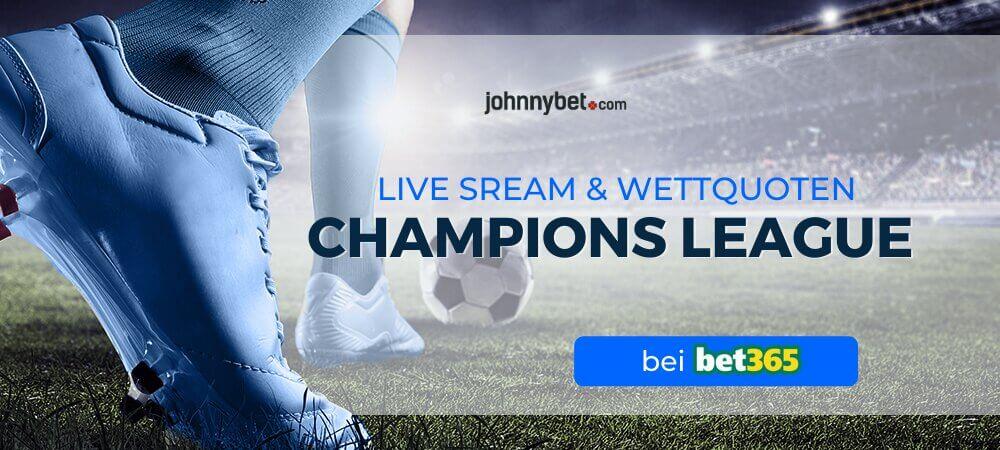Wo kann man Champions League live im Internet gucken?