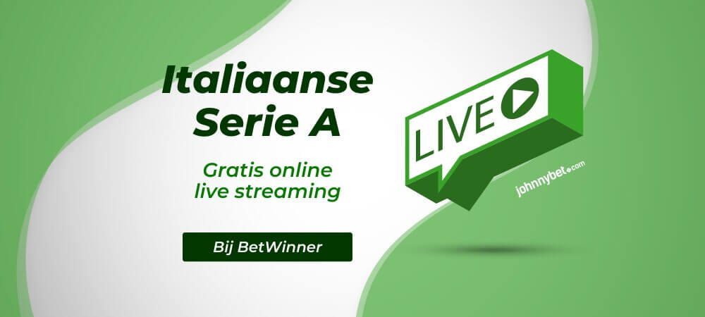 Gratis Serie A Live Streams