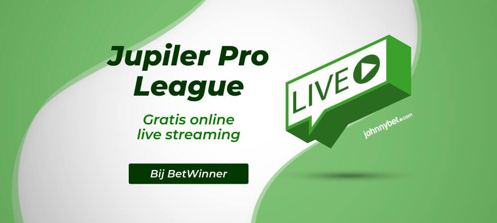Gratis Jupiler Pro League Live Streams