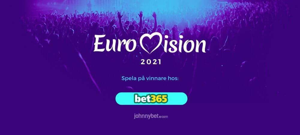 Eurovision 2021 odds och speltips