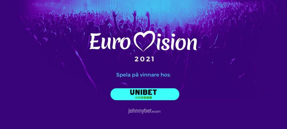 Eurovision odds speltips unibet