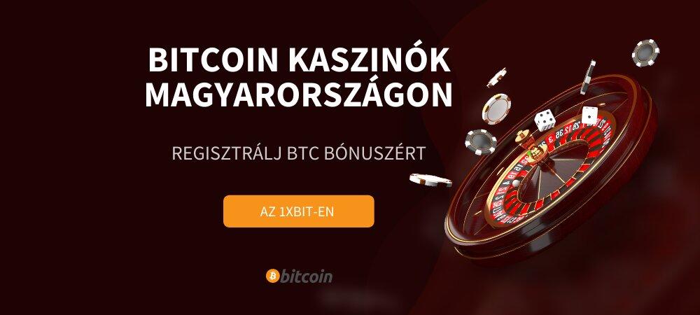 Bitcoin kaszinók Magyarországon
