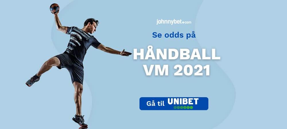 Håndball VM 2021 odds
