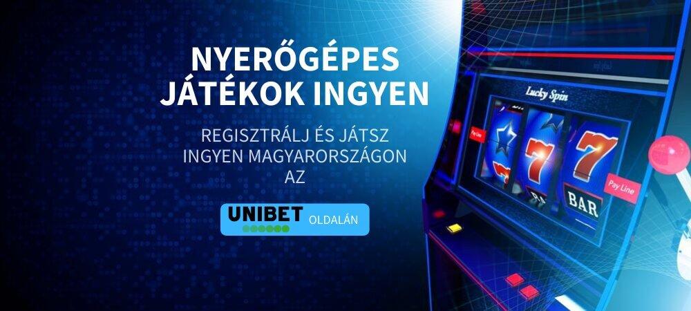 Nyerőgépes játékok ingyen magyarul