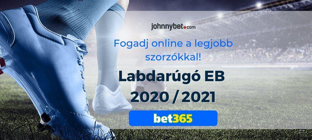 Labdarúgó EB 2020 / 2021 fogadási tippek