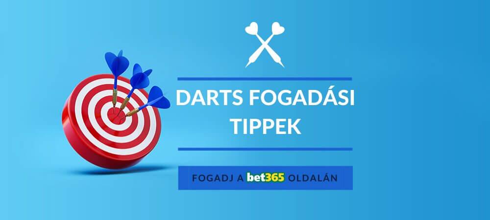 Ingyenes darts fogadási tippek és előrejelzések