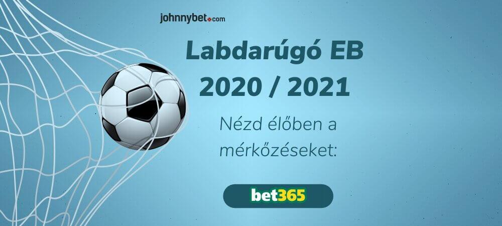 Labdarúgó EB 2020 / 2021 élő közvetítés