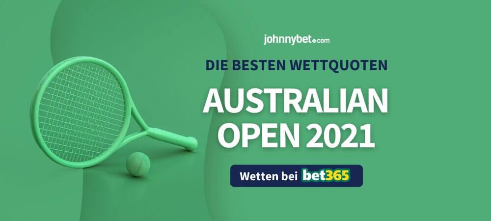 Australian Open 2021 Wettquoten