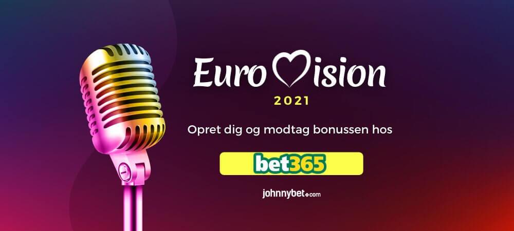 Europæiske Melodi Grand Prix 2021 Betting Odds