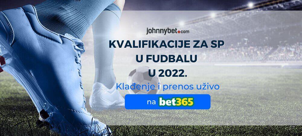 Kvalifikacije za SP u Fudbalu u 2022. Klađenje