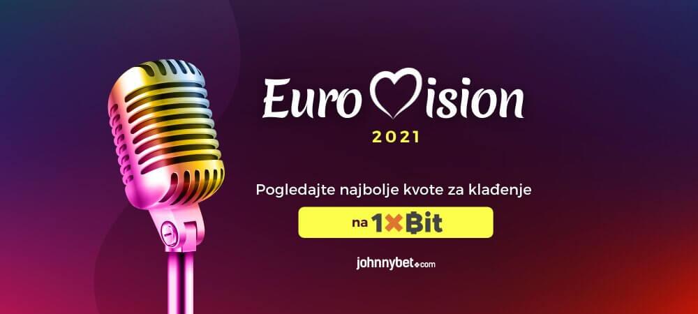 Pesma Evrovizije 2021 Klađenje