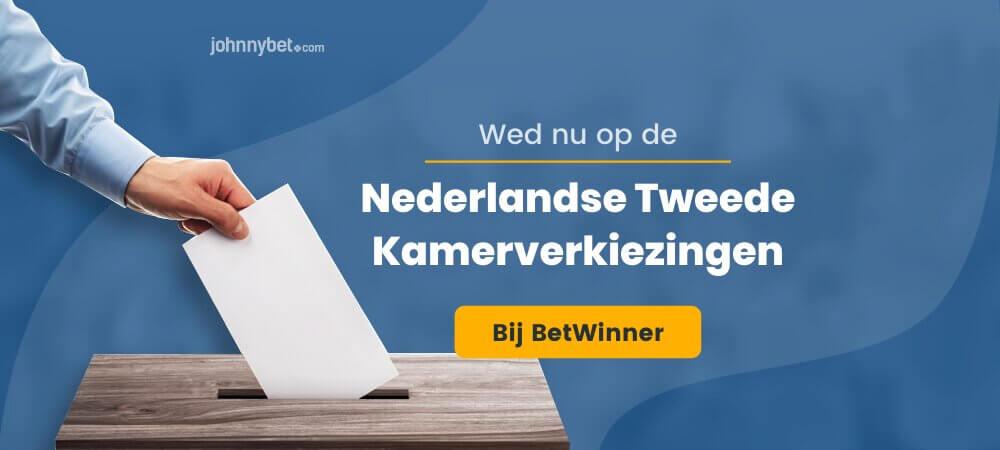 Verkiezingen nederland odds betwinner