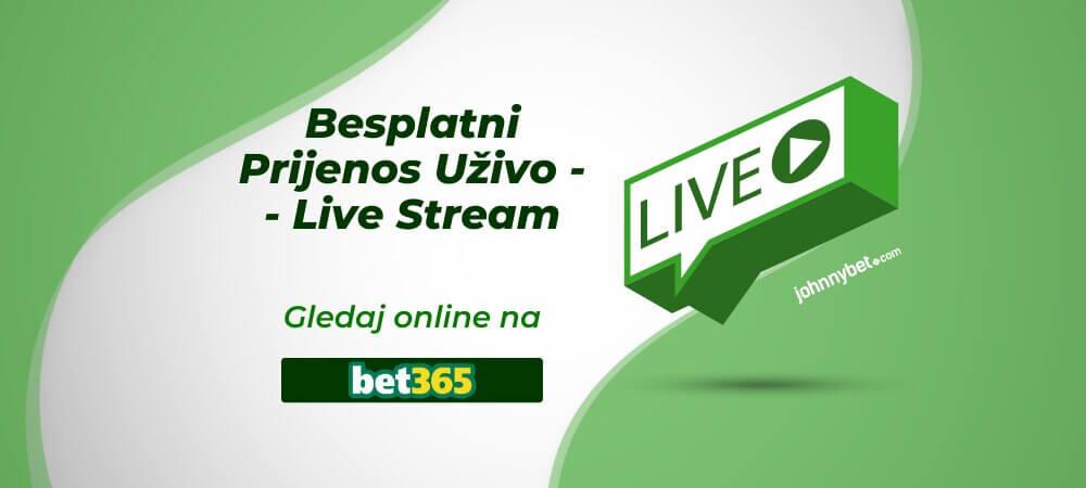 Besplatni Prijenos Uživo i Live Stream