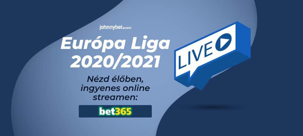 Európa Liga 2021 élő közvetítés