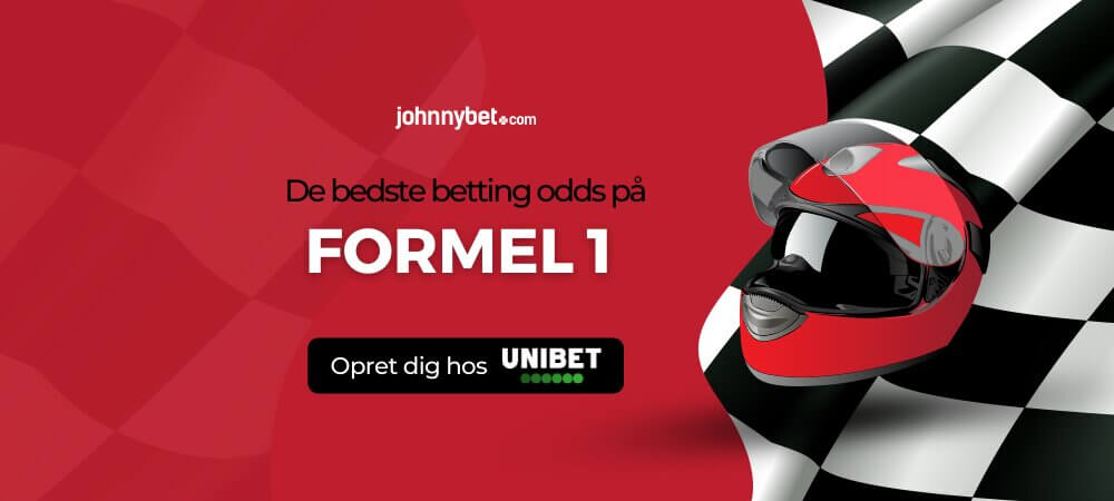 Formel 1 betting odds banner unibet