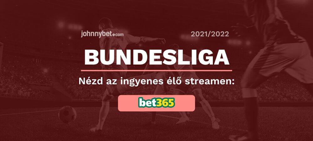 Ingyenes Bundesliga élő közvetítések