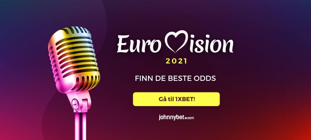 Eurovision odds 1xbet