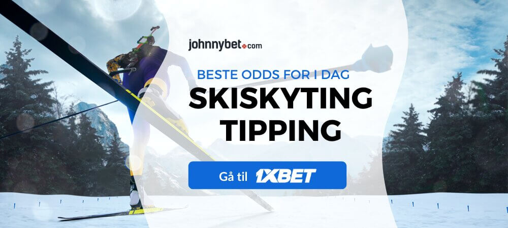 1xbet skiskyting tipping